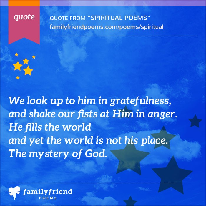 Short Religious Quotes About Family: Spiritual Poems