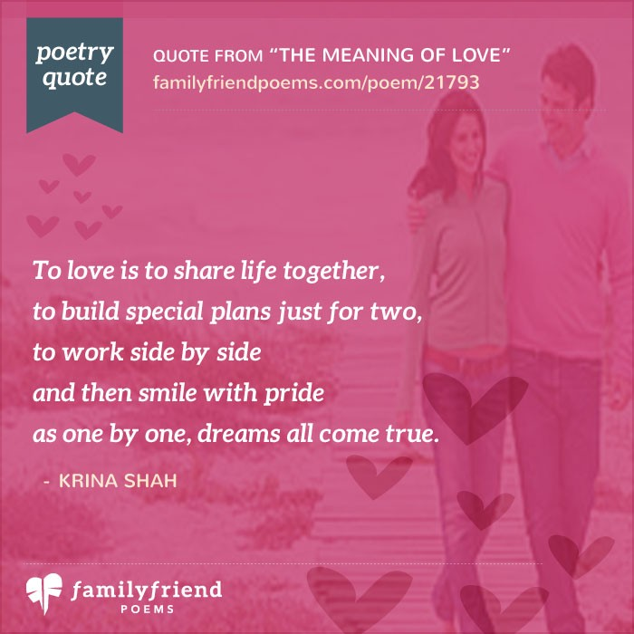 Romantic Quotes Poems: The Meaning Of Love, Romantic Poem