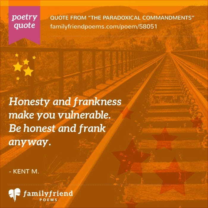 From The Great Poem: Famous Poems About Life By Famous Poets