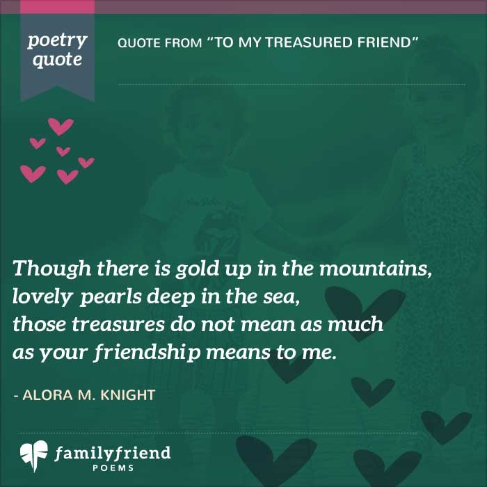 Poem About What True Friendship Means To My Treasured Friend