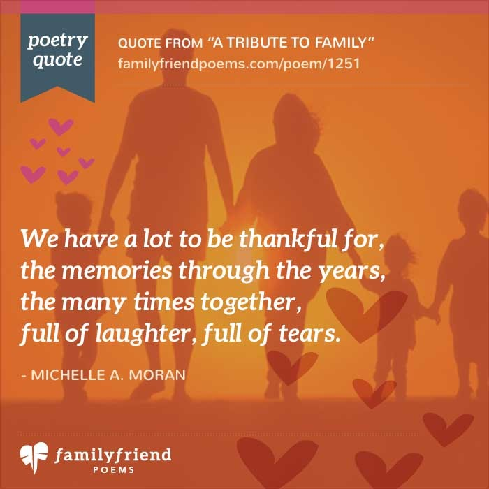 Family Poems - Loving Poems About Family Relationships