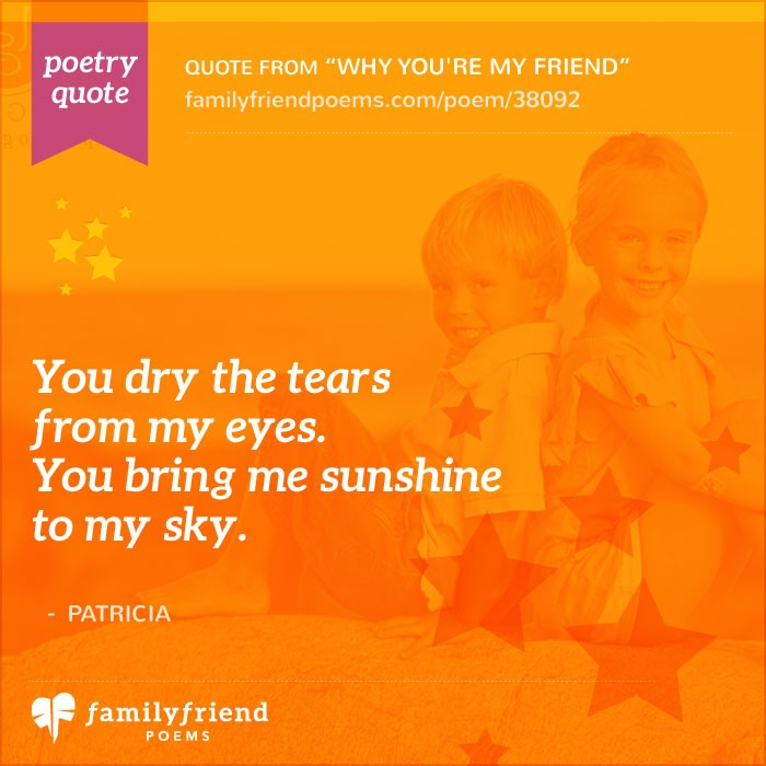 You Re An Amazing Friend: Why You're My Friend, Thank You Friend Poem