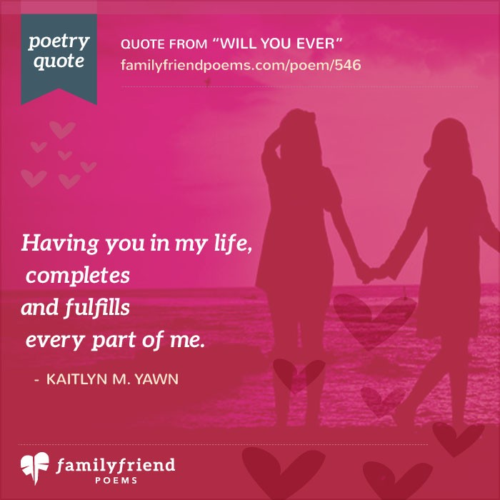 friendship and relationship poems