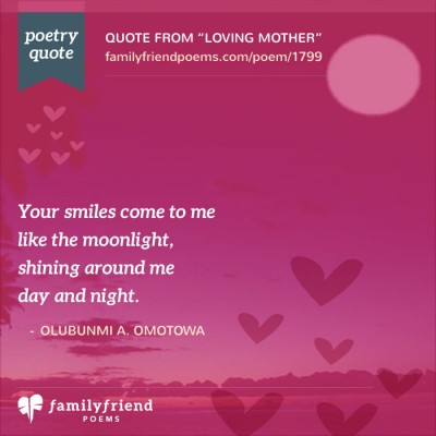 Thank You Poem, Loving Mother