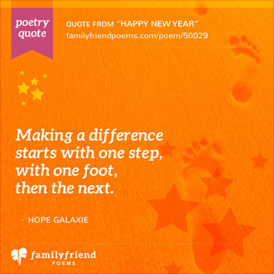 New Year's Poems