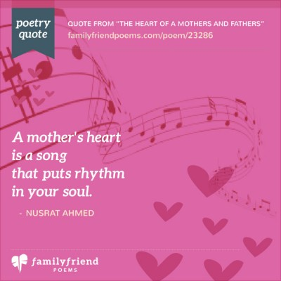 Mother Father Poems, The Heart Of Mothers And Fathers