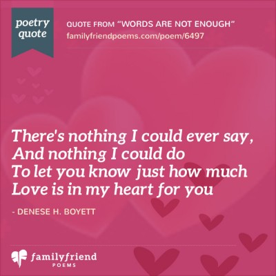 Love and romance poems