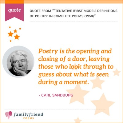 Poetry Is The Opening And Closing Of A Door