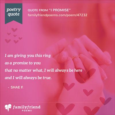 ring poem, i promise