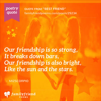 Quote Showing The Strength Of Friendship
