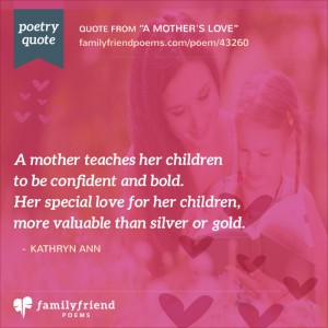 21 Short Mothers Day Poems - Mother\'s Day Poetry Quotes