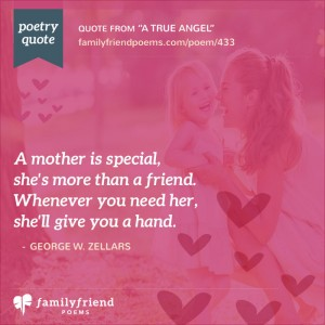 Poem About All That a Mother Will Do, A True Angel