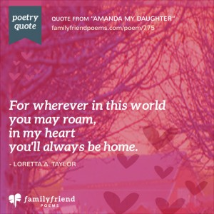 52 Daughter Poems Loving Mother And Father Poems For Daughters