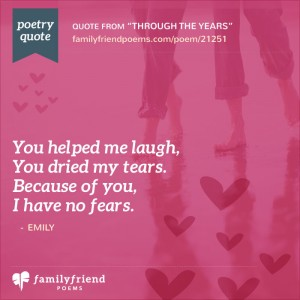 thank you for being a friend poem