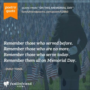 16 Memorial Day Poems - Poems about Memorial Day