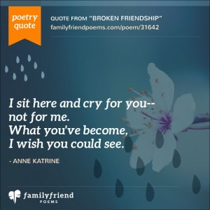 lost friend poems poems about losing a friend