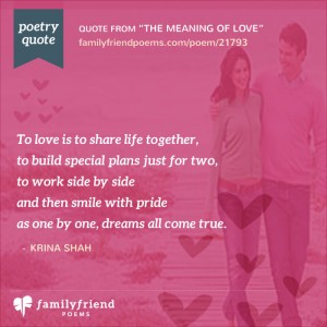 Romantic true love poems