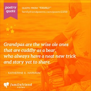 31 Grandfather Poems - Poetry About Grandfathers from Grandkids