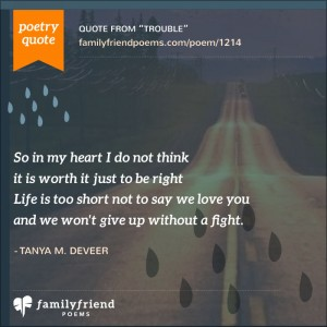 20 I'm Sorry Family Poems - Poems about Saying I'm Sorry