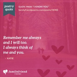 Dating love poems