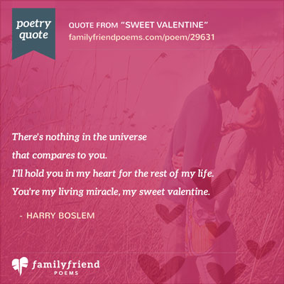 Sweet Valentine, Romantic Valentine's Day Poem