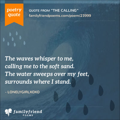 Poem Describing Being At The Ocean The Calling
