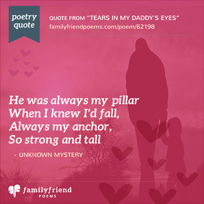 poems on relationship between father and daughter