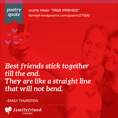 Short Friendship Poems - The Best Short Poems For Friends