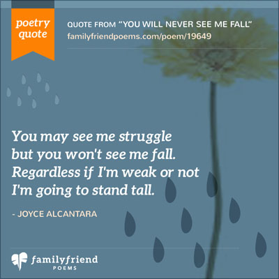 Struggle But Not Fall Quote